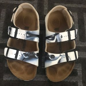 Boys authentic Birkenstock Star Wars sandals